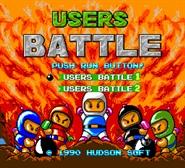 Bomberman Users Battle