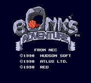 Bonks Adventure