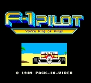 F-1 Pilot – Youre King of Kings