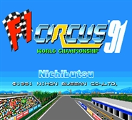 F1 Circus 91 World Championship