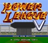 Power League V