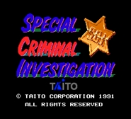 Special Criminal Investigation