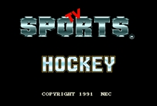 TV Sports Hockey