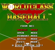 World Class Baseball